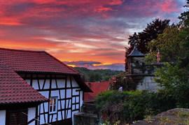 Sonnenuntergang Kronach