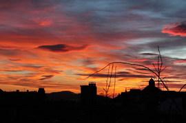 Sonnenuntergang in Kronach